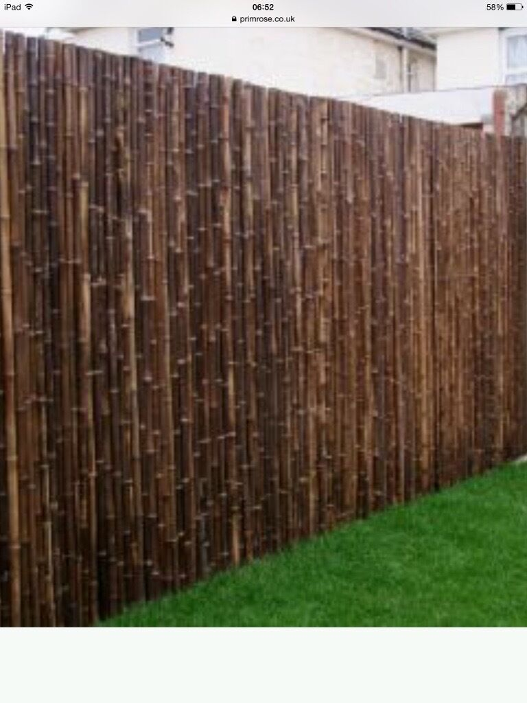 10 Heavy Duty Extra Thick Bamboo Screening Panels Just Over 12