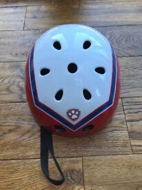 Paw patrol cycle helmet