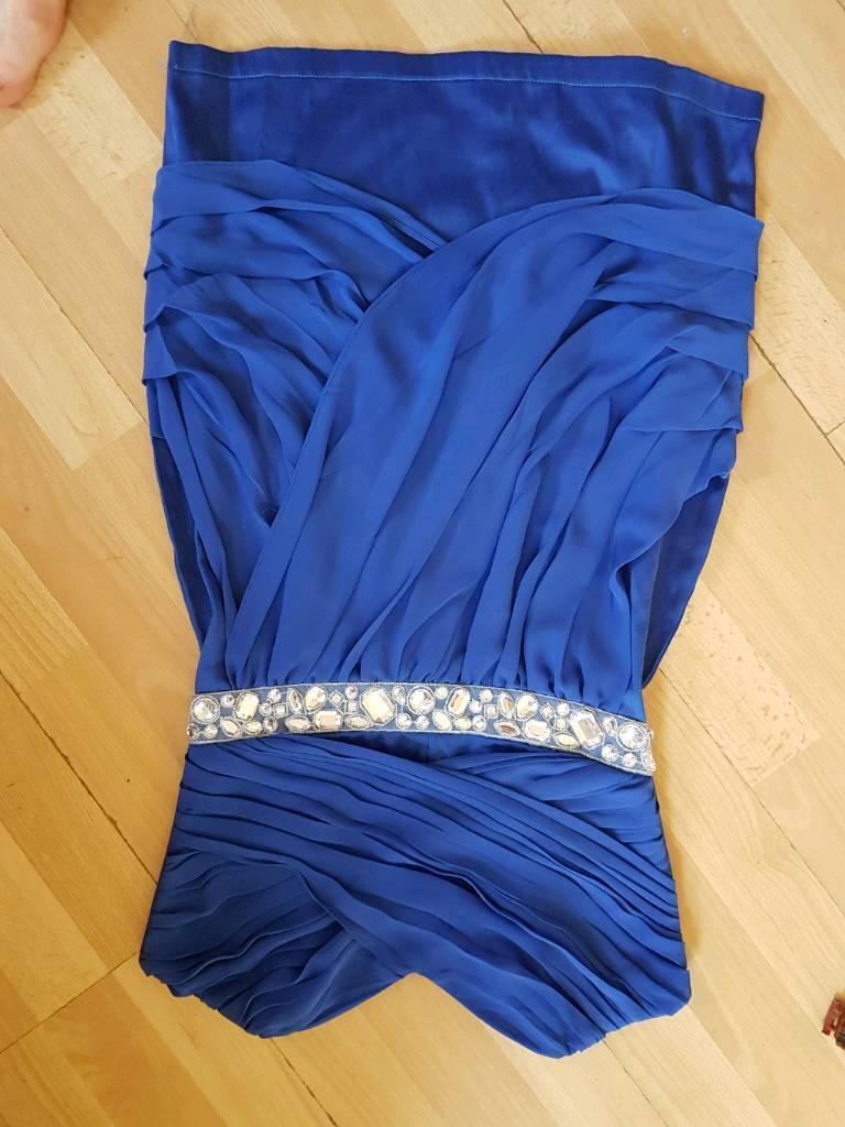 Evening short maxi dress