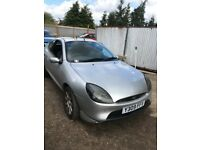 Ford Puma silver 1.7 Petrol Manual Breaking for parts / spares
