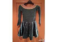 Irish dancing dress, age 6/8