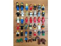 Job lot of Lego Minifigures Star Wars Harry Potter City Ferrari Speed racers