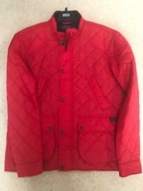 Men's Polo Ralph Lauren red Polo quilted jacket hardly worn in excellent condition