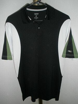 5dbb46199d370 Mens IZOD Cool-FX XFG Polo - Black