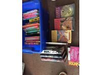 Selection of books including Harry Potter and Jacqueline Wilson