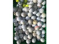 For sale 100 practice golf balls.
