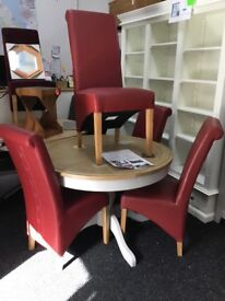 NEW!!! dining table with 4 chairs