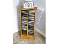 CD and DVD storage units