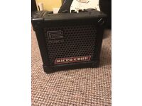 Electric Guitar and Amp ideal for beginner. Roland Micro amp perfectly portable and Stagg guitar