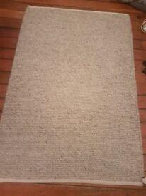 Beautiful pebble grey rug