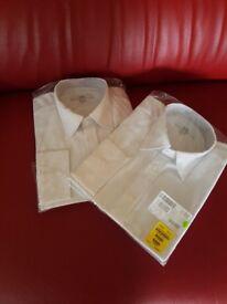 Mens white formal shirt
