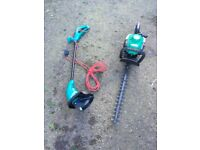 Bosch strimmer/qualcast hedge trimmer
