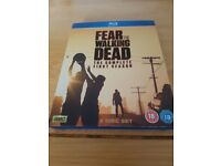 Fear the walking dead season 1 on blu ray