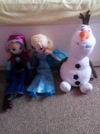 Frozen soft toys