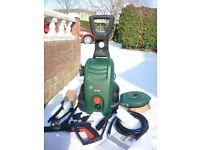 New Bosch 3400 + AQT Pressure Washer