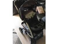 Craco push chair with baby carry case