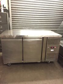 Commercial under counter bench freezer,catering