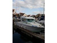 Jeanneau Merry fisher fishing boat
