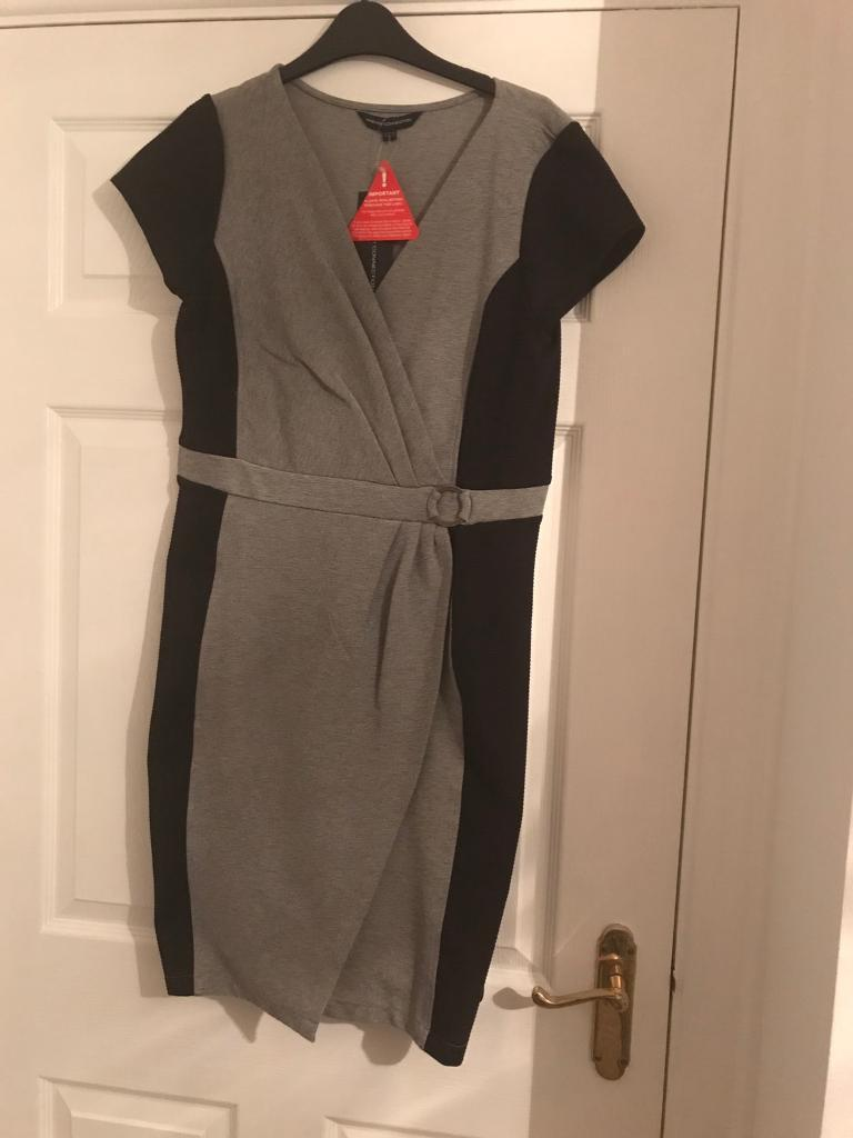French connections midi dress BNWT