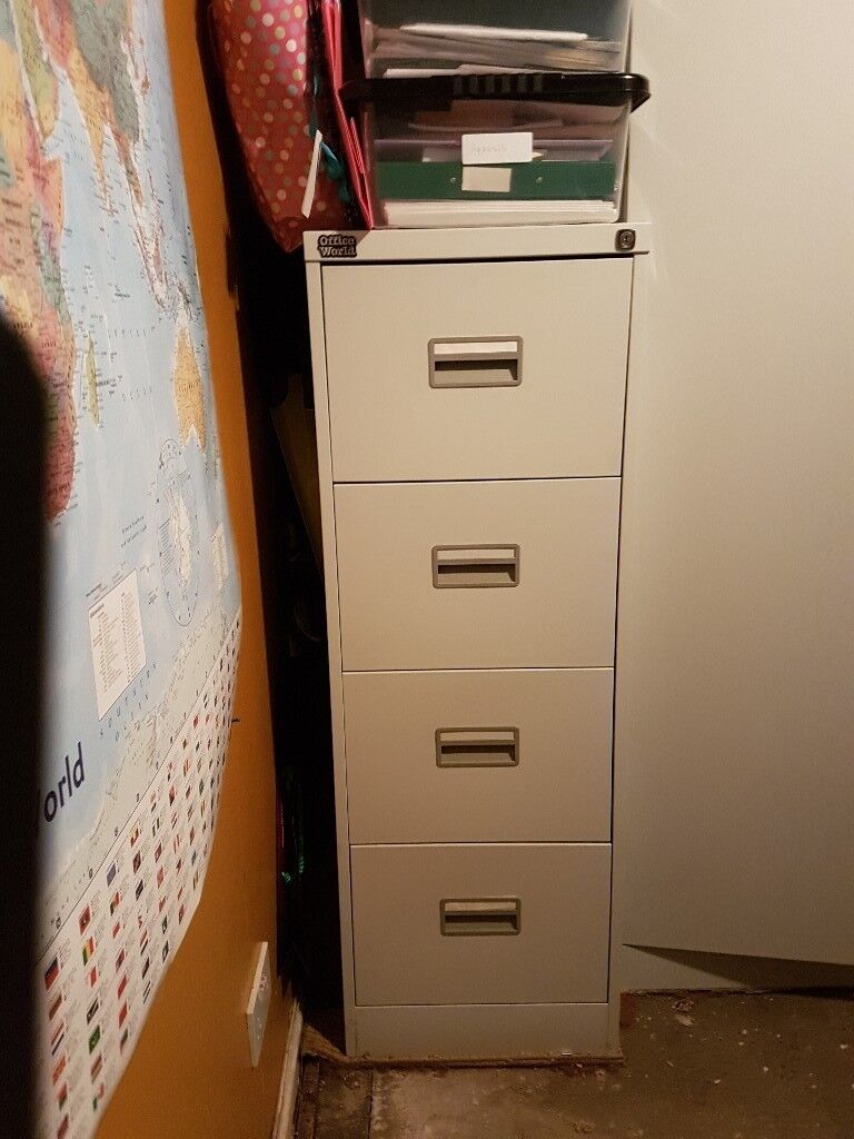 Filing Cabinet With Key In Livingston West Lothian
