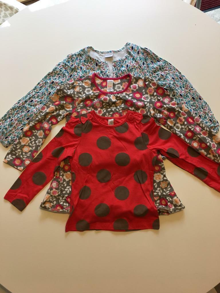 3 pack long sleeve girls tops age 5-6 years from Boots