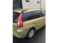 7 seater Citroen c4 grand Picasso 1.6hdi good family car