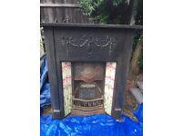 Cast Iron Reproduction edwardian fireplace