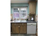 Zanussi Dishwasher 60cm wide For Sale
