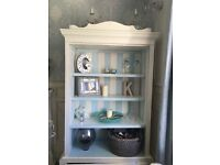 French armoire vintage display cupboard lovingly restored