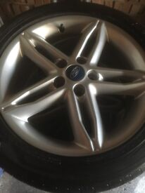 Ford 5 stud alloy wheels mondeo focus off2016 model