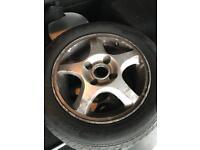 "4 Honda Accord 15"" Alloy Wheel 4 stud 5 spoke 6J ET55 4x114.3 64.1"