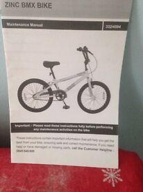 used bicycle ZINC BMX ,