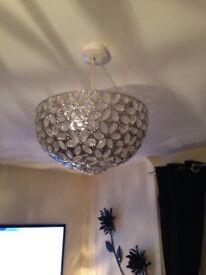 Jewelled light fitting