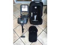 Britax Romer infant car seat and isofix