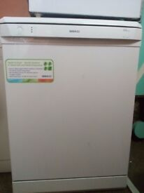 Used Beko DSFN 1530 12 place setting dishwasher