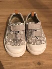 2 x Clark's Doodles shoes