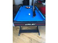 Reley 5Ft Vertical Folding Pool Table