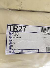Kingspan insulation 120mm Tr27