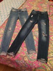 Girls Pull & Bear jeans size 32