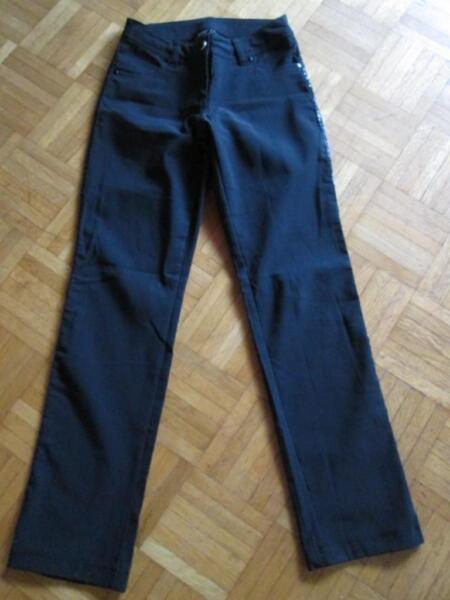 Festliche Hose, schwarz, mit Paillettenbesatz, Gr. 36, von Okay in  Rheinland-Pfalz - Oberzissen   eBay Kleinanzeigen 5f11b17796