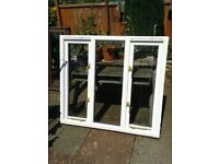 2 x Wooden Window Frames,