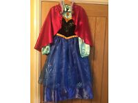 Disney store Frozen Anna Dress Age 5-6yrs