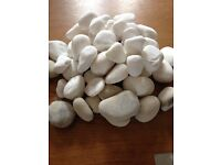 New in Box Gas fire Ceramic Pebbles Approx 45-47 pebbles.