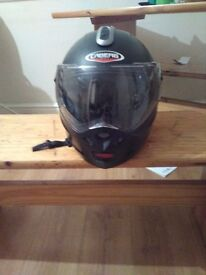 Caberg motorcycle helmet £45 few scuffs and scratches