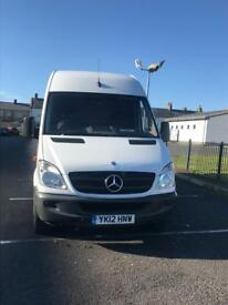 Mercedes Sprinter LWB CDI High Roof White 310 Low Mileage