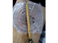 Turntable glass round plate for microwave 32cm diameter with rack NEW unused