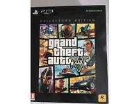 Grand Theft Auto 5 deluxe set - NO GAME - otherwise complete