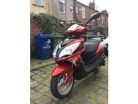 Lexmoto fms 125cc, 65 plate, 100 miles on clock