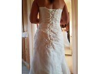 Bespoke Wedding Dress * BRAND NEW SIZE 12*