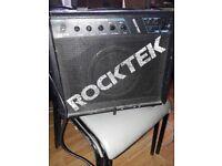 Rocktek rk20b bass amp